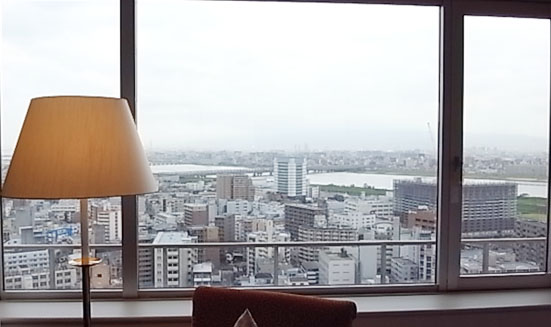 濃厚な2日間♪「お部屋編」@ウェスティンホテル大阪_b0051666_1553682.jpg