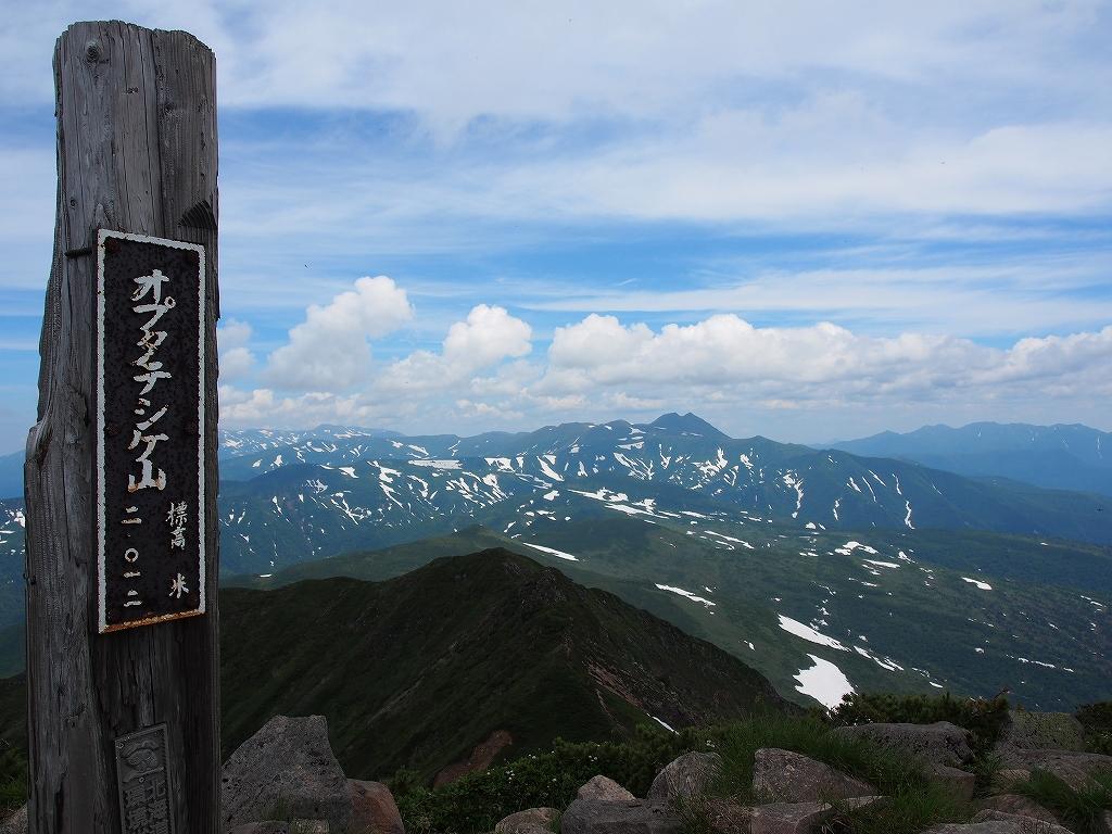 7月11日、富良野岳と十勝岳。翌12日は十勝岳とオプタテシケ山_f0138096_20302834.jpg