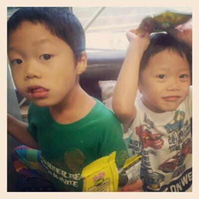 4歳男の子☆カット_f0158908_1135268.jpg