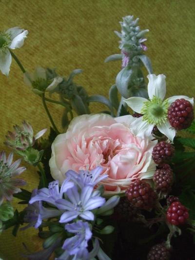 オークリーフ(一輪のバラと)_f0049672_1813237.jpg