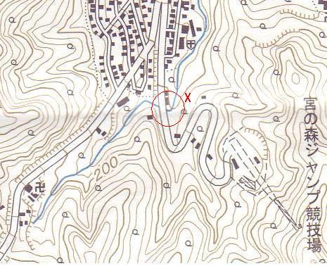 琴似川源流部の考察_f0078286_10411353.jpg