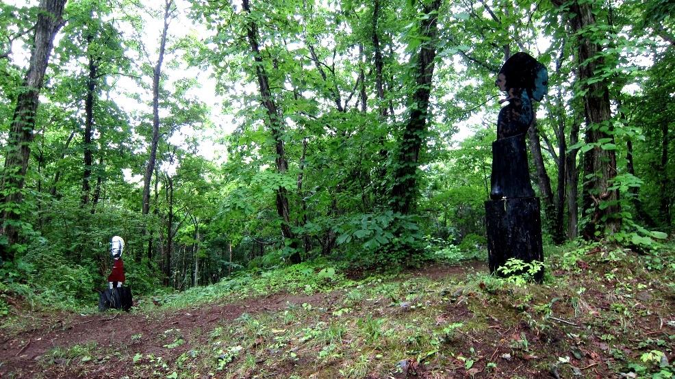 2090)終了「松浦進 展 『cryptic』」北広島市・黒い森美術館 7月1.2.3・・8.9.10日  _f0126829_1054636.jpg