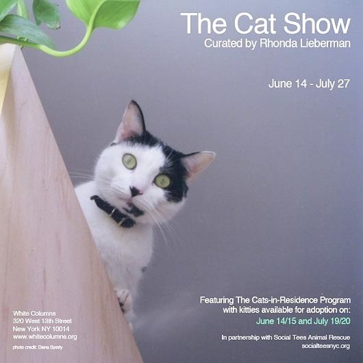 猫好きにオススメのアート展示会「The Cat Show」がチェルシーのギャラリーで開催中_b0007805_12225489.jpg