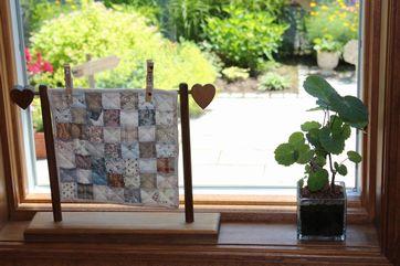 ハワイアンタペトップ完成& キルトとお花の映えるお家^^_b0158421_18365613.jpg