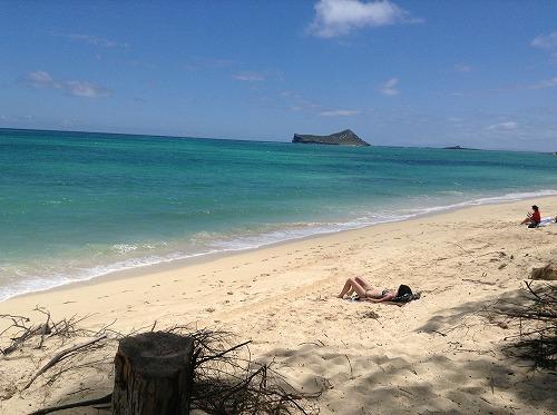 ハワイ☆2013~マカプウからワイマナロビーチへ、そしてカイルアでプレートランチ♪_f0207146_9273761.jpg