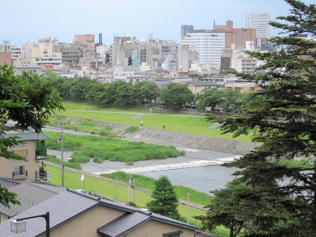 第9話 犀川を見下ろすW坂_f0100593_2126323.jpg