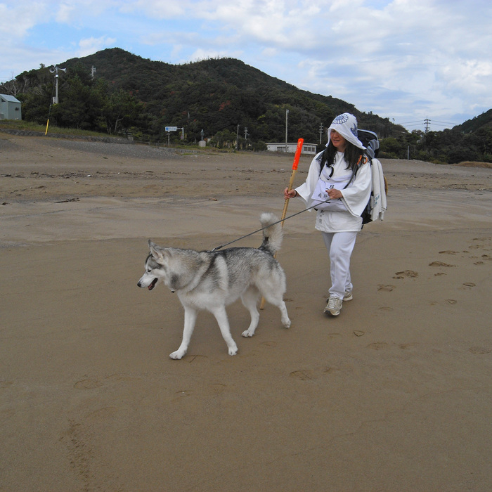 Memory of the second pilgrimage with husky HANA_c0049299_16134289.jpg