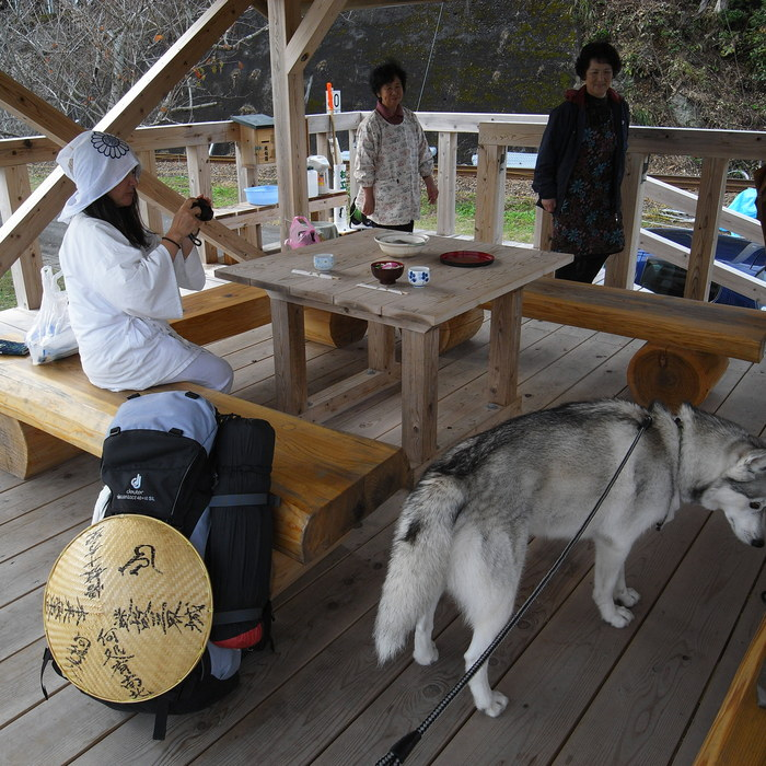 Memory of the second pilgrimage with husky HANA_c0049299_16301676.jpg