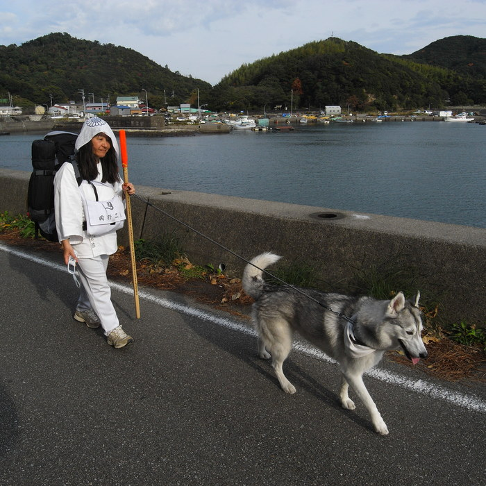 Memory of the second pilgrimage with husky HANA_c0049299_16341227.jpg