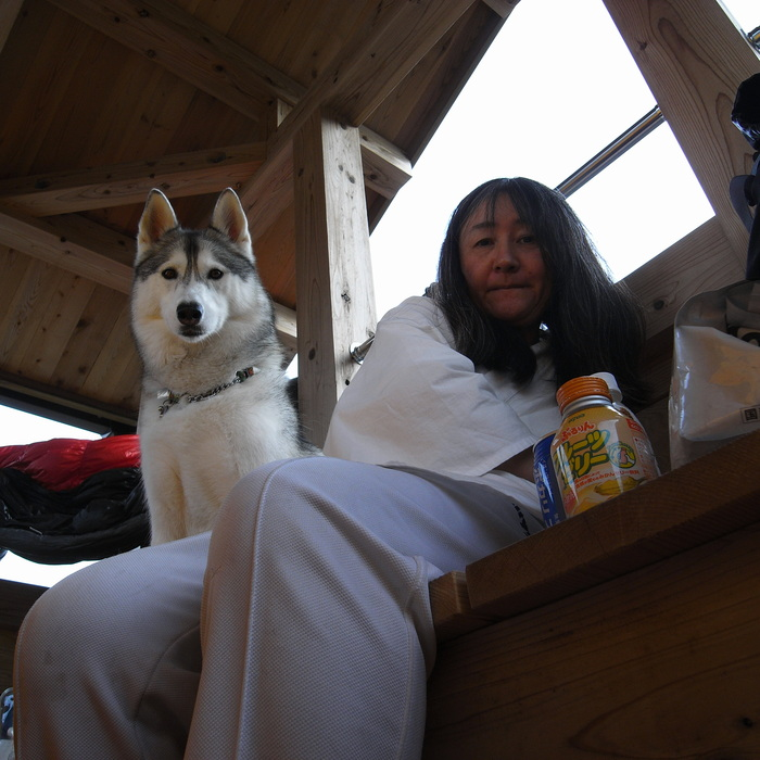 Memory of the second pilgrimage with husky HANA_c0049299_1636436.jpg