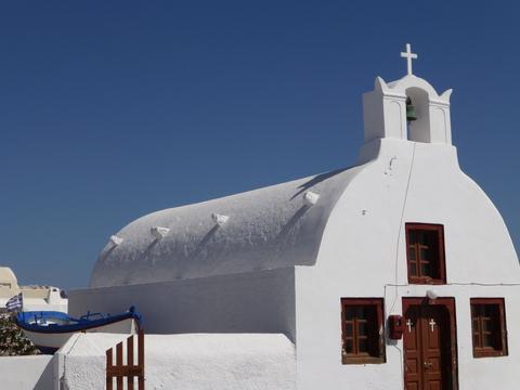 ギリシャ サントリーニ島2日目-4(教会)_e0237625_18351216.jpg