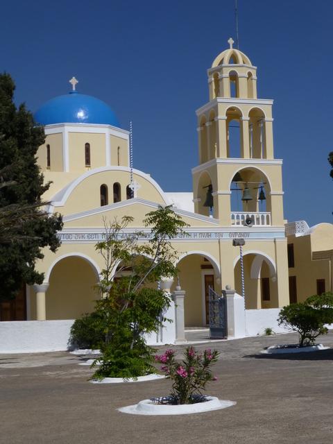 ギリシャ サントリーニ島2日目-4(教会)_e0237625_1836384.jpg