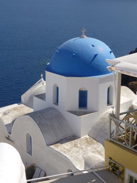 ギリシャ サントリーニ島2日目-4(教会)_e0237625_18391658.jpg