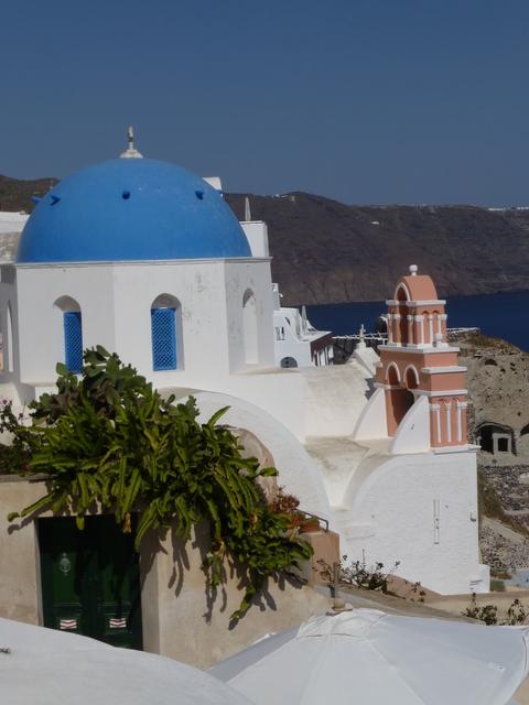 ギリシャ サントリーニ島2日目-4(教会)_e0237625_18403836.jpg