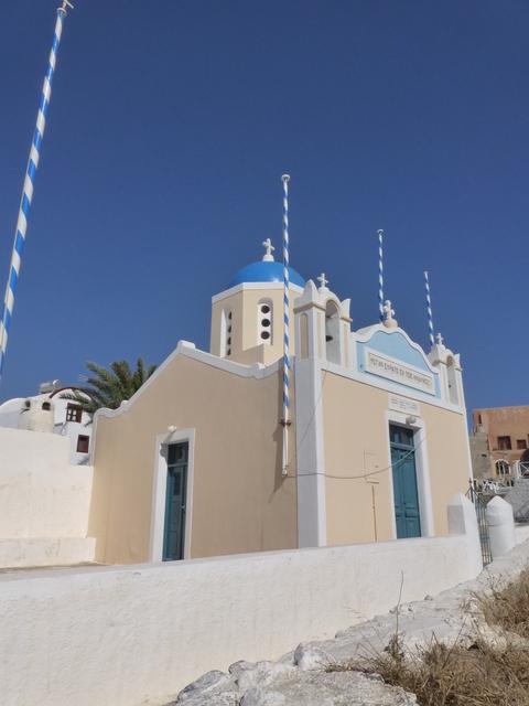 ギリシャ サントリーニ島2日目-4(教会)_e0237625_18431631.jpg