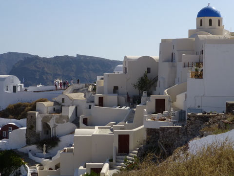 ギリシャ サントリーニ島2日目-4(教会)_e0237625_18491119.jpg