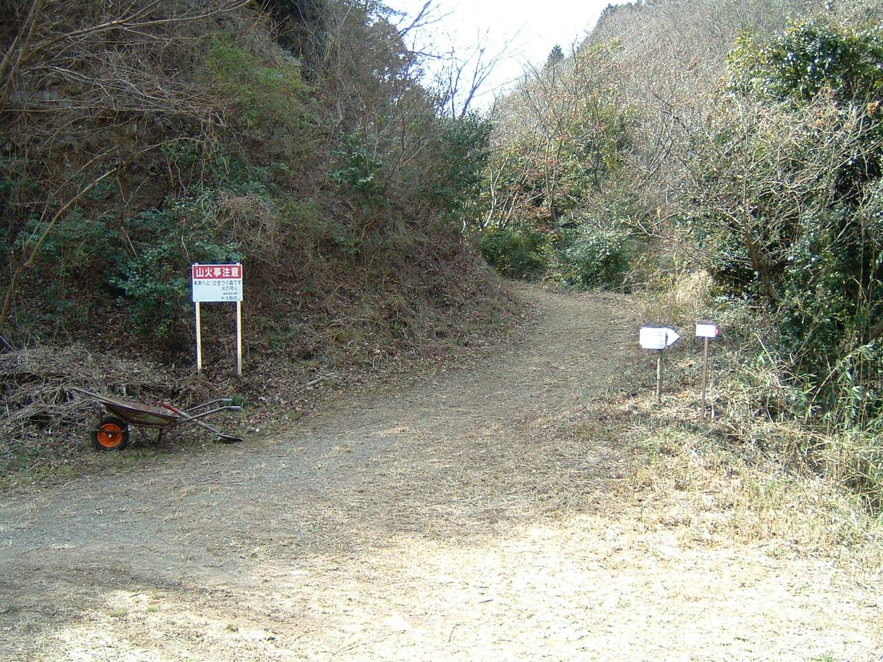 孝子の森の畑造成&展望台にベンチ設置_c0239329_1282692.jpg
