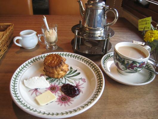 北山紅茶館 スコーンのモーニングセット_c0223630_18454986.jpg