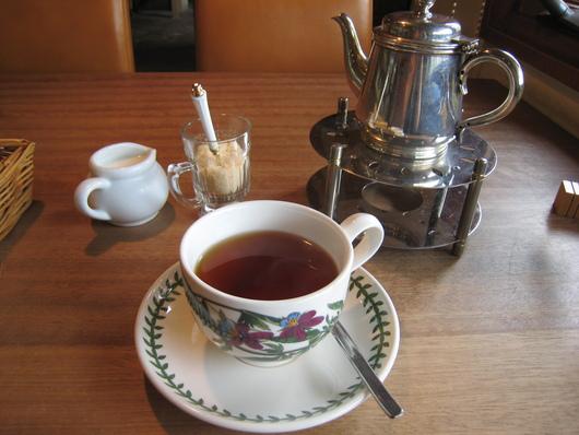 北山紅茶館 スコーンのモーニングセット_c0223630_1847985.jpg
