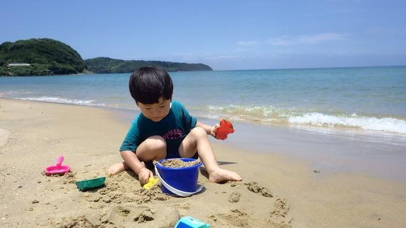 ちょっと島を出て海水浴へ〜♪_f0201157_2048349.jpg