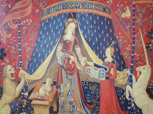 La Dame à la licorne 。。。@貴婦人と一角獣展 | 国立新美術館(東京・六本木)♪•*¨*•.¸¸♪♡✝_a0053662_144553100.jpg