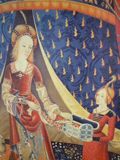 La Dame à la licorne 。。。@貴婦人と一角獣展 | 国立新美術館(東京・六本木)♪•*¨*•.¸¸♪♡✝_a0053662_14545089.jpg