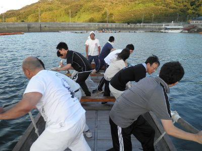 魅せるぜ、熱い魂! 水軍レース大会に参加します!(その1)_e0197164_1819825.jpg