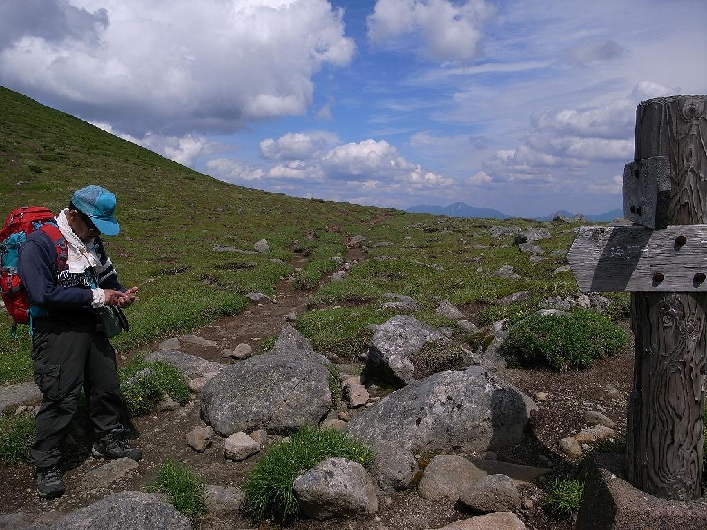 7月12日、オプタテシケ山から望岳台_f0138096_15504332.jpg