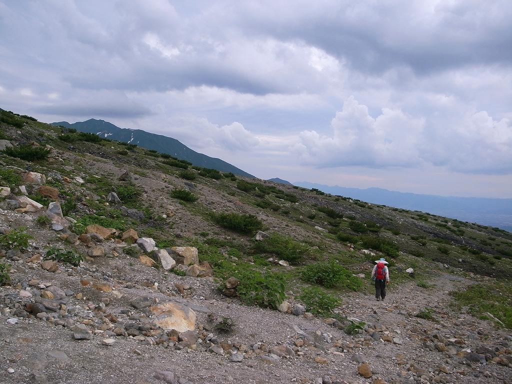 7月12日、オプタテシケ山から望岳台_f0138096_15523589.jpg