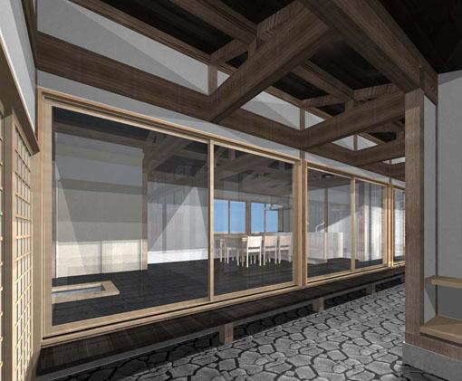 小須戸100年住宅改修:改修案パース_e0054299_14591195.jpg