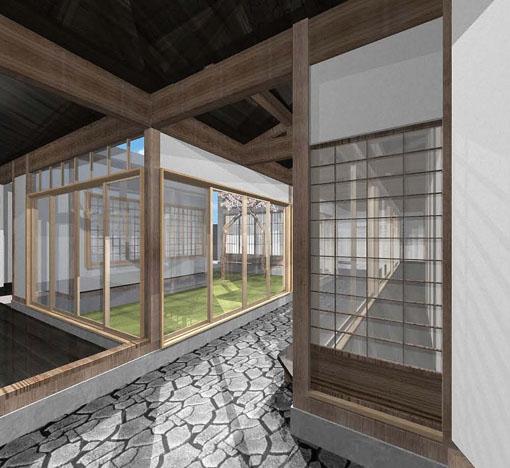 小須戸100年住宅改修:改修案パース_e0054299_150172.jpg