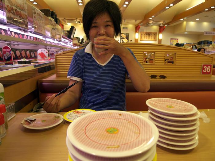 Japan for the first time in 8 years - at Kappa-zushi Hamamatsu Zudaji_e0202828_19354328.jpg