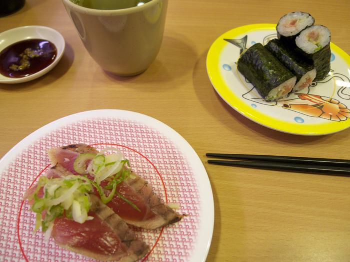 Japan for the first time in 8 years - at Kappa-zushi Hamamatsu Zudaji_e0202828_1941366.jpg