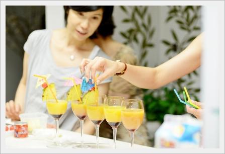 トロピカルランチパーティー ~パーティークラス_d0217944_18413621.jpg