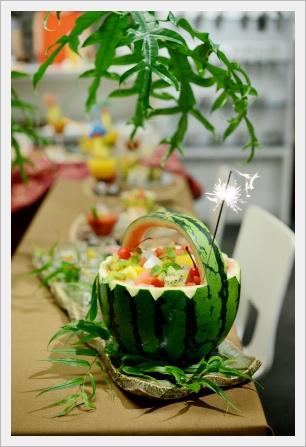 トロピカルランチパーティー ~パーティークラス_d0217944_18413952.jpg