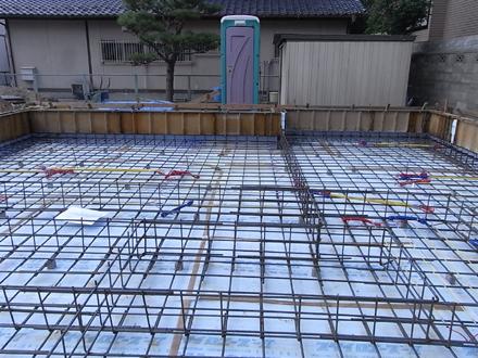 『香久池の家』 基礎工事と配筋検査_e0197748_11423777.jpg