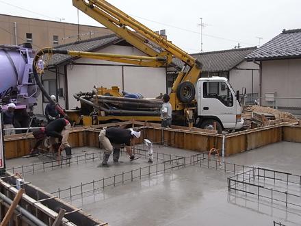 『香久池の家』 基礎工事と配筋検査_e0197748_11425399.jpg