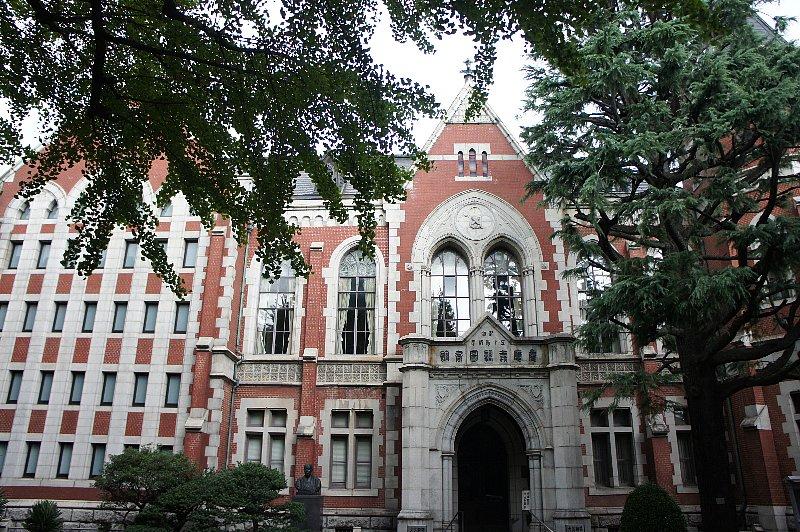 慶応義塾大学 図書館旧館_c0112559_12561531.jpg