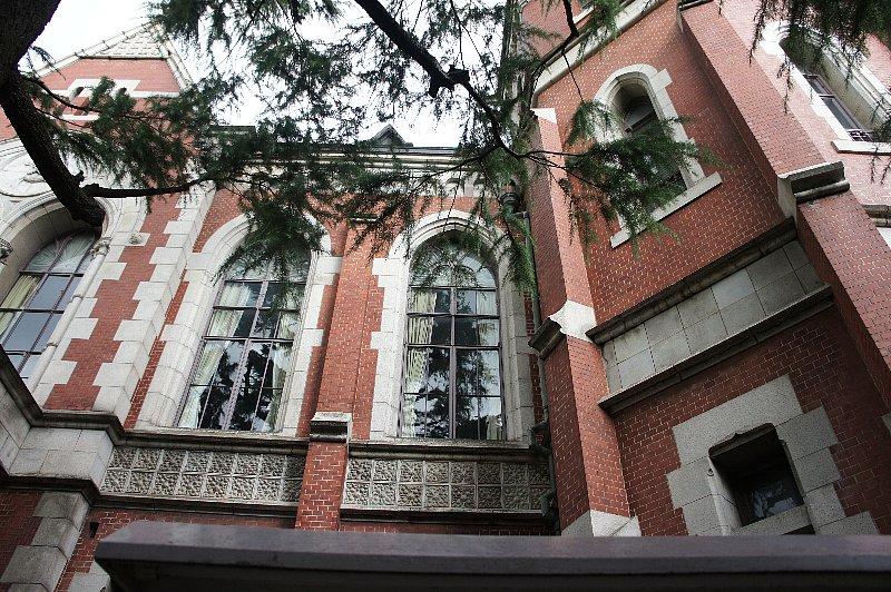 慶応義塾大学 図書館旧館_c0112559_12574896.jpg