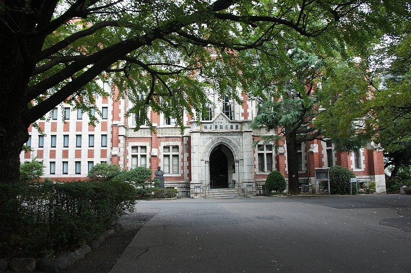 慶応義塾大学 図書館旧館_c0112559_12592026.jpg