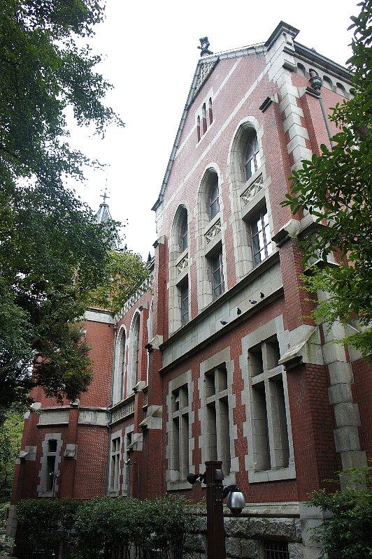 慶応義塾大学 図書館旧館_c0112559_1259336.jpg