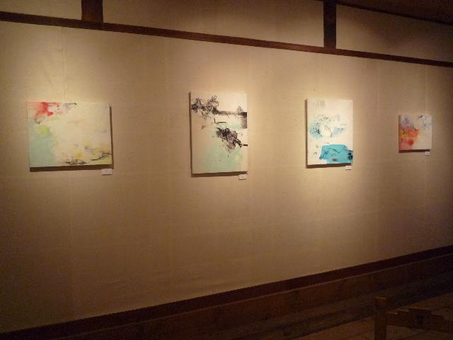 2013.7②渡邊博・久松温子展_e0138627_1623529.jpg