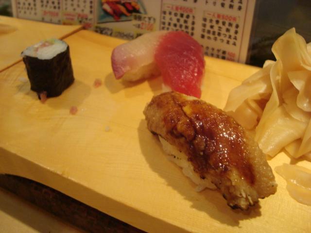 中野「魚がし鮨 中野北口店」へ行く。_f0232060_11523145.jpg