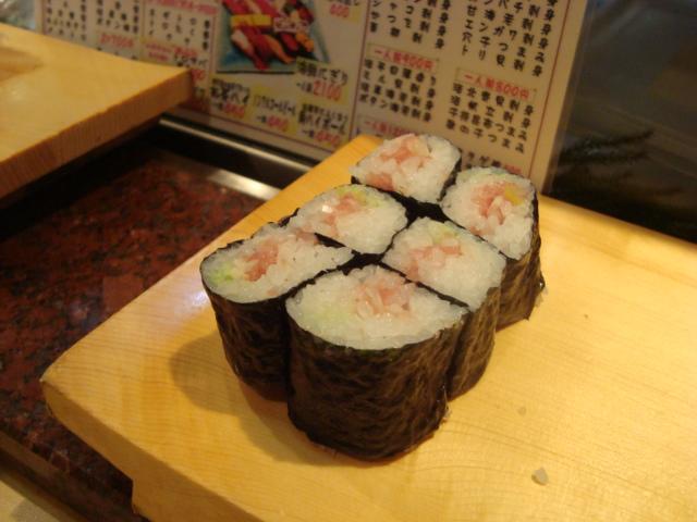 中野「魚がし鮨 中野北口店」へ行く。_f0232060_1153871.jpg
