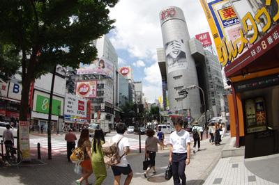 7月18日(木)の渋谷109前交差点_b0056983_113252.jpg