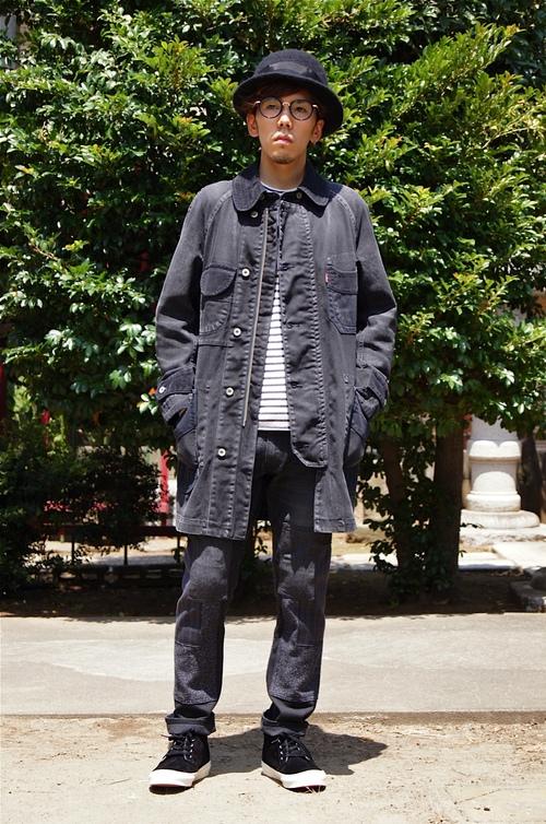 JUNYA WATANABE MAN - Levi\'s all black coordinate!!_c0079892_22154488.jpg