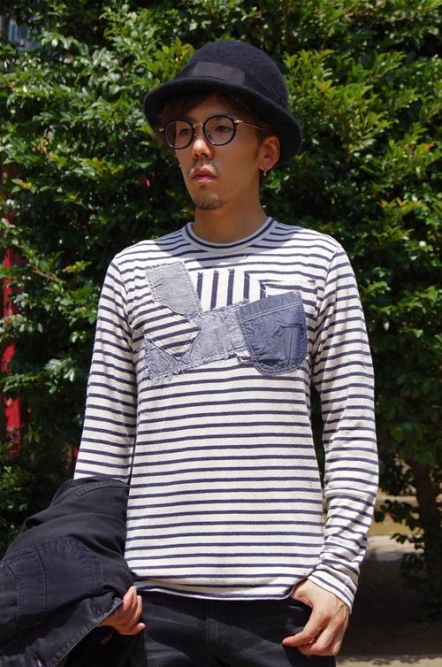 JUNYA WATANABE MAN - Levi\'s all black coordinate!!_c0079892_22162763.jpg