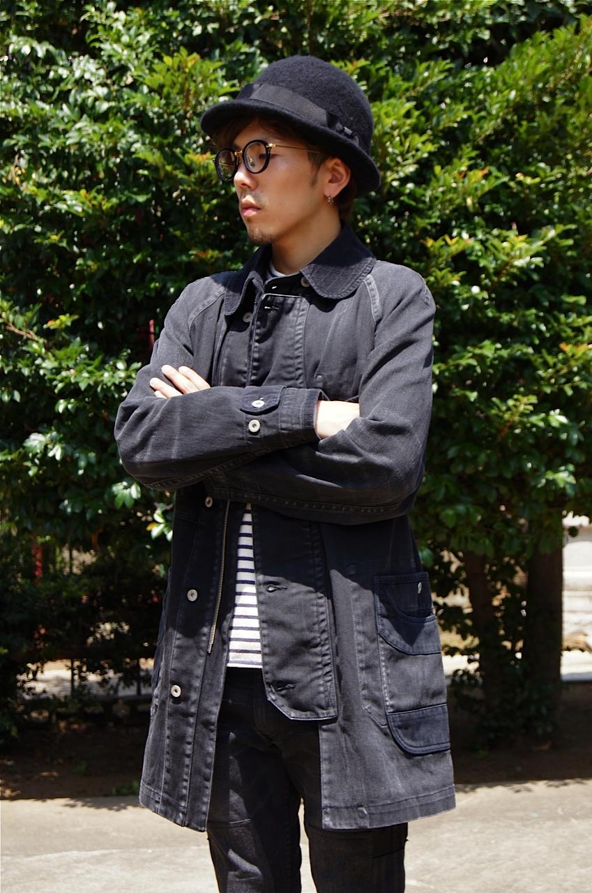 JUNYA WATANABE MAN - Levi\'s all black coordinate!!_c0079892_22165345.jpg