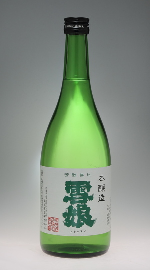 雪娘 本醸造 [雪娘酒造]_f0138598_2201857.jpg