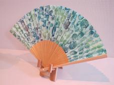 栫 美奈子 銅版画と銅版画の扇子展 始まりました_c0218903_913492.jpg